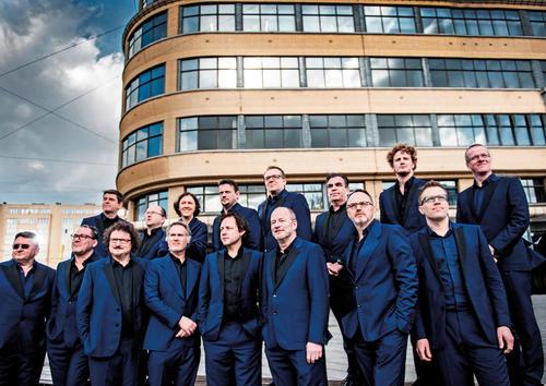 Das Brussels Jazz Orchestra.
