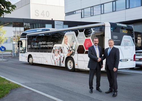 Audi stärkt öffentlichen Nahverkehr in Ingolstadt