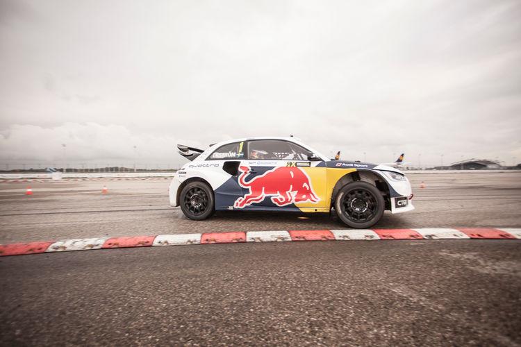 Rallycross event, Audi Central Lounge Training, Munich airport
