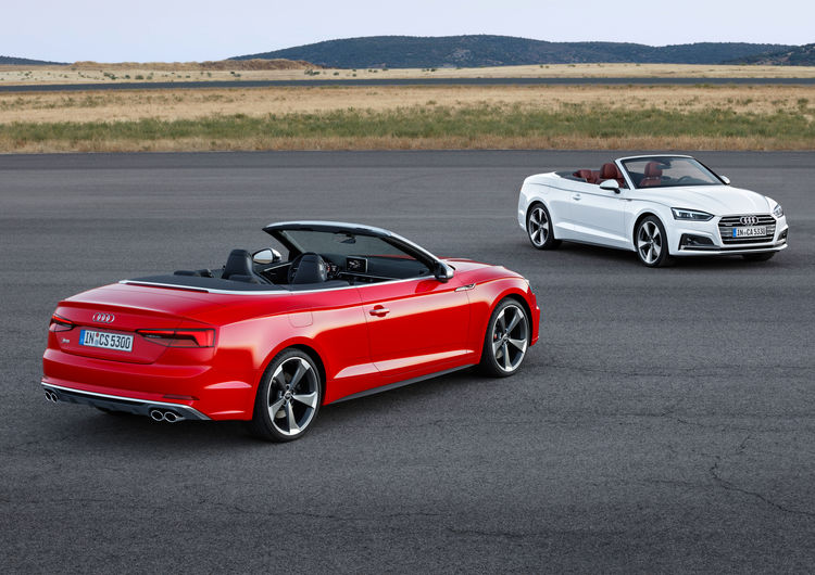 Audi A5 Cabriolet, Audi S5 Cabriolet