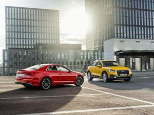"Gewinner des ""Goldenen Lenkrads 2016"": Audi A5/Audi S5 Coupé und Audi Q2"