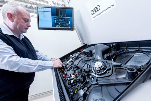 Audi TechDay Smart Factory