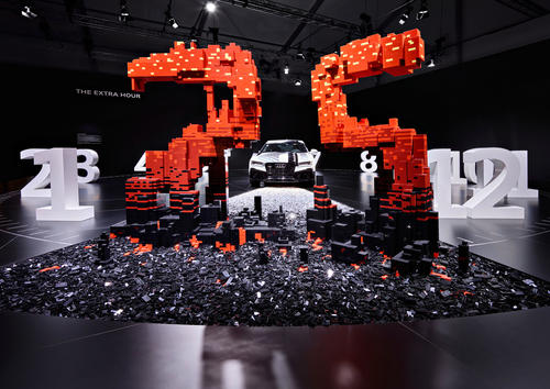 """The extra hour"" installation by Audi and the LEGO® Group at Design Miami/"