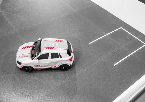 Audi Q2 deep learning concept