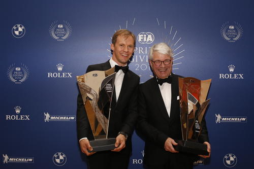 FIA Prize Giving 2016, Vienna