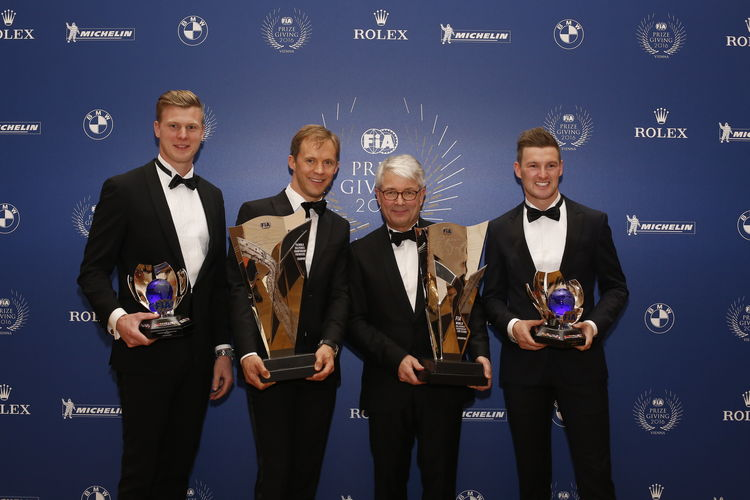 FIA Prize Giving 2016, Vienna