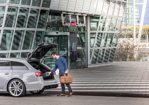 Erster Audi on demand Standort in Deutschland