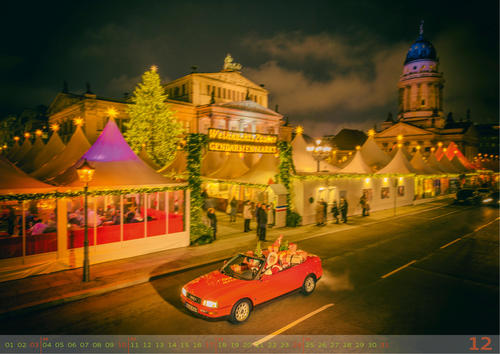 """new """"Berlin Calling"""" calendar from Audi Tradition"""