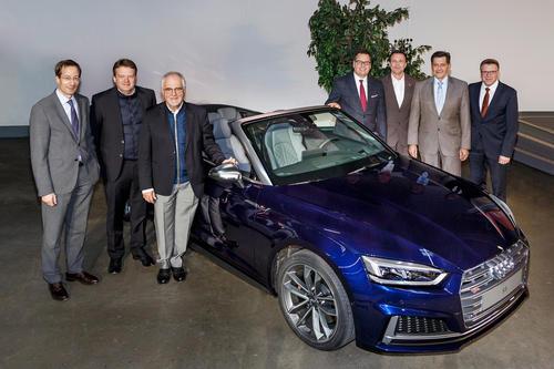 Vierte Betriebsversammlung 2016 am Audi-Standort Neckarsulm