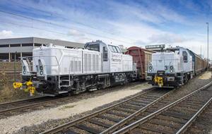 Auf leisen Schienen: Zweite Hybrid-Lok nimmt Fahrt bei Audi in Ingolstadt auf