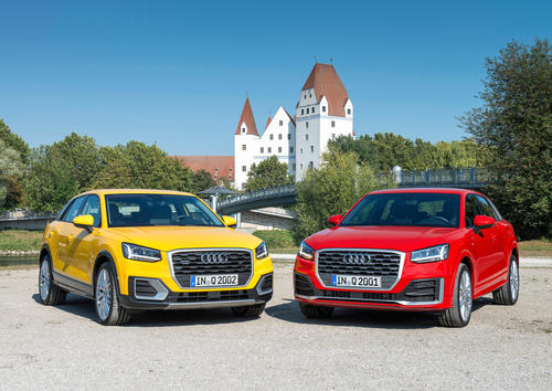The new Audi Q2 in Ingolstadt