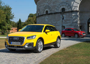The new Audi Q2 in Ingolstadt.