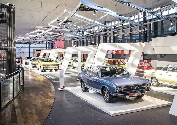 """Neue Traditionsausstellung """"Von Null auf 100"""" vom 24. Juni bis März 2017 im Audi Forum Neckarsulm."""