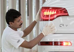 Produktionsstart des Audi Q7 in Indien