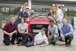 Future of Mobility Practicum: US-Studenten bei Audi