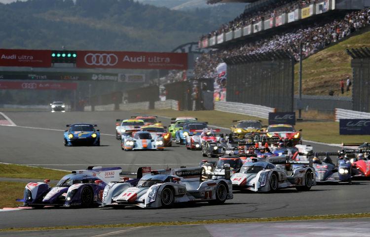 Audi belegt zwei Podiumsplätze in Japan