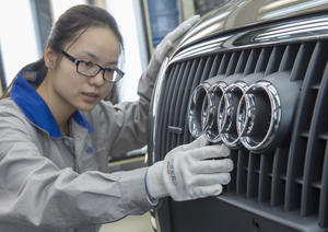 Audi location Changchun, China