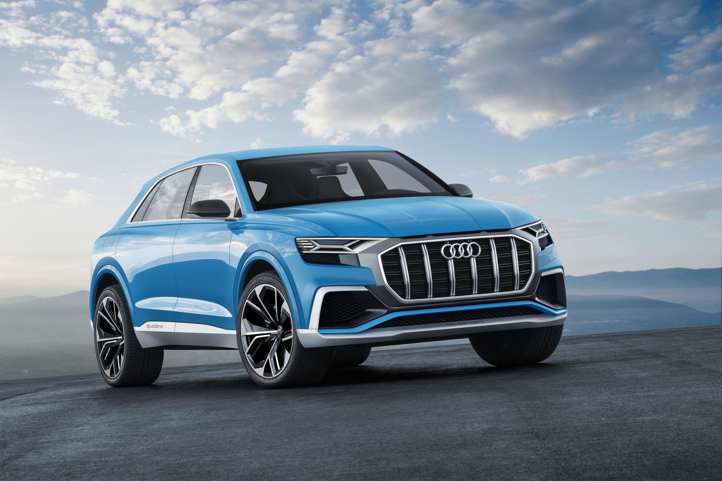 Oberklasse-SUV im Coupé-Design: Audi Q8 concept | Audi MediaCenter