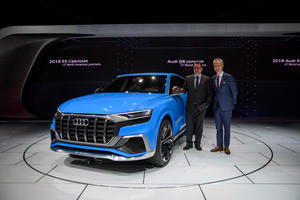Audi at the 2017 American Auto Show in Detroit
