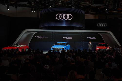 Audi auf der North American Auto Show 2017 in Detroit