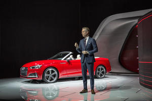 Audi auf der North American Auto Show 2017 in Detroit