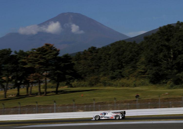 Audi qualifiziert sich in Fuji für Startreihe eins
