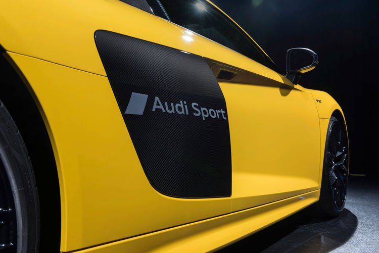 Audi etches symbols into car paint