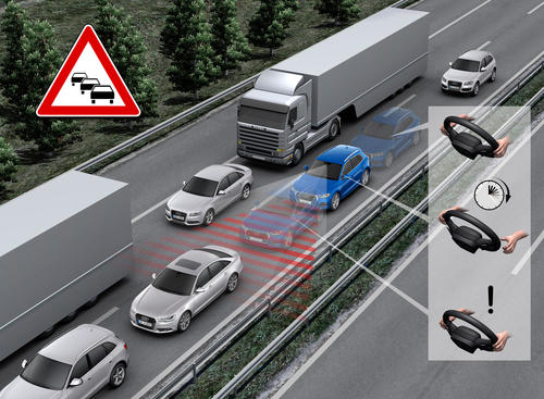 Traffic jam assist
