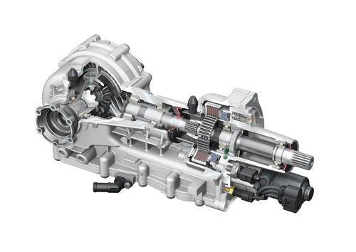 Audi R8: Actively controlled front differential