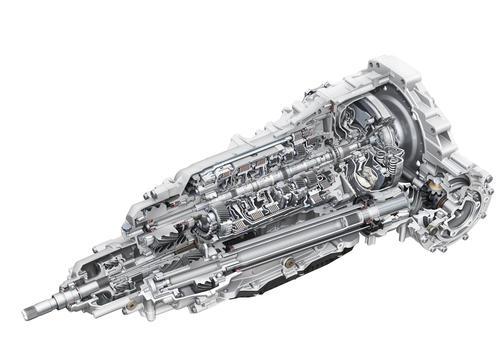 Eight-speed tiptronic