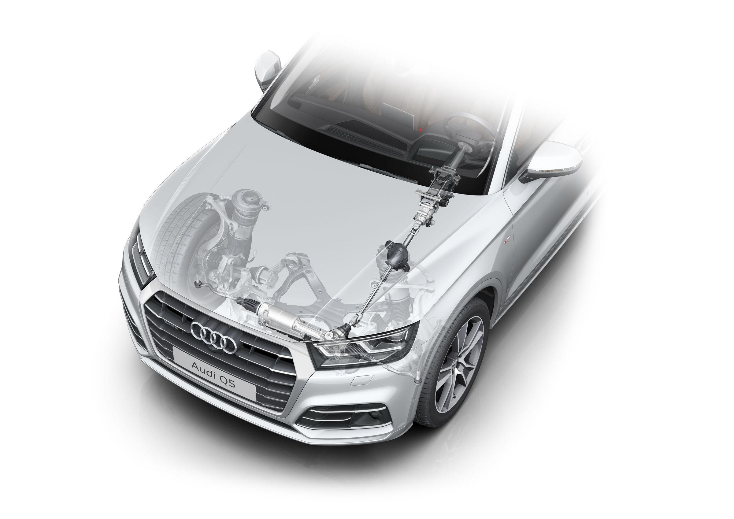 Audi Q5 Front Bumper Diagram