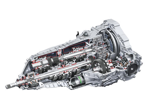 S tronic dual-clutch transmission