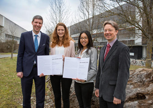 Valuable contribution to resource management: Audi Environmental Foundation honors young scientists