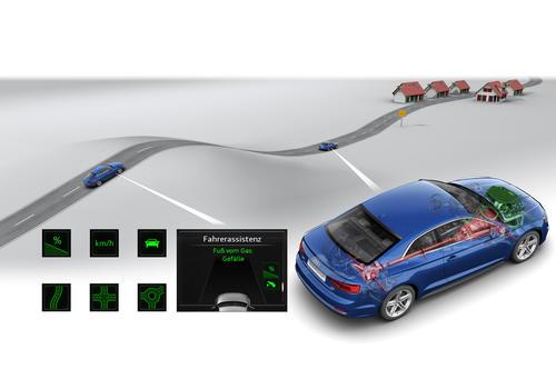 Audi A5 Coupé: predictive efficiency assistant