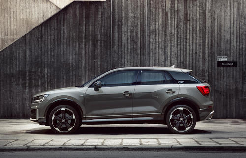 Gold for Audi Q2 in the German Design Award competition