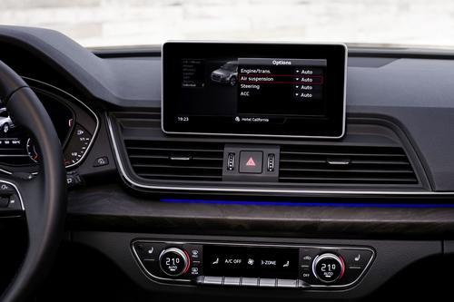 Audi adaptive air suspension