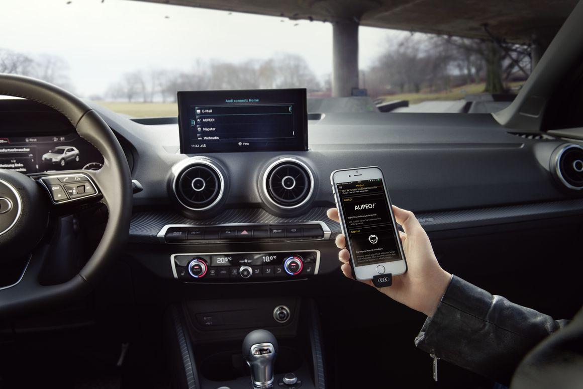 Audi MMI Connect App Audi MediaCenter - Audi connect