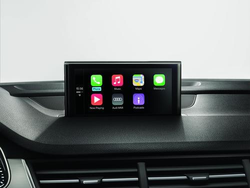Audi smartphone interface