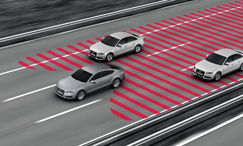 Audi pre sense rear