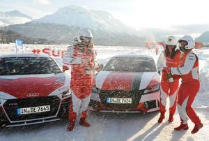 Audi #SuperQ St. Moritz