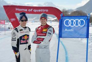 Müller visits Ekström in St. Moritz