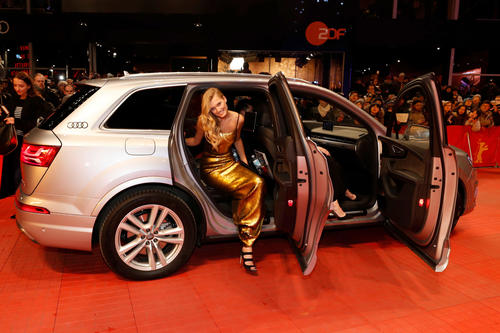 "Audi at the 67th Berlinale: Arrivals ""Django"" Premiere"