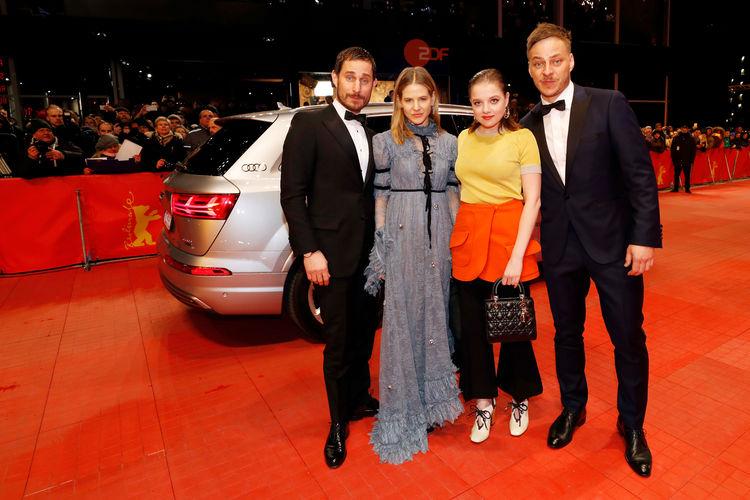 "Audi at the 67th Berlinale: Arrivals ""Django"" Premiere"