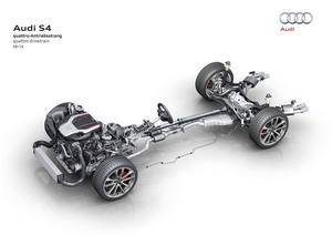 Audi S4: quattro drivetrain