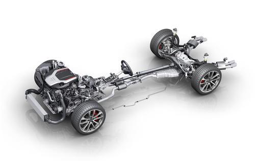 Audi SQ 5 3.0 TFSI: Drivetrain