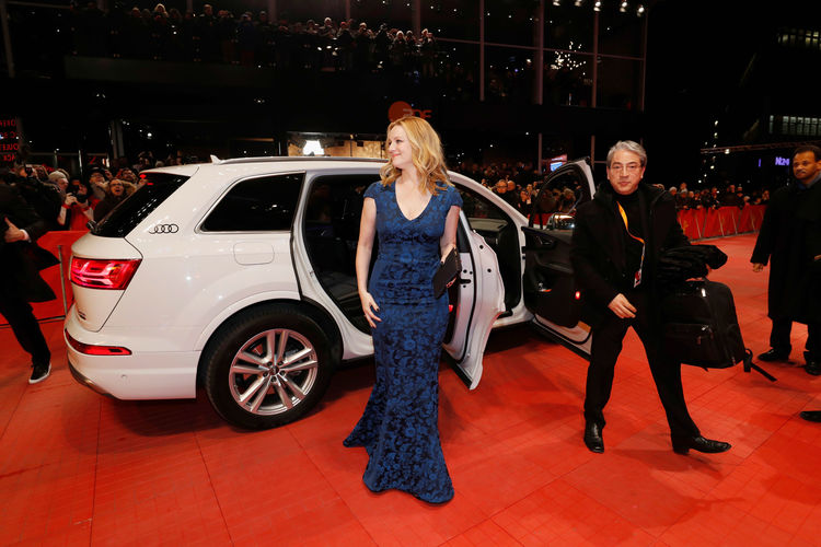 """Audi at the 67th Berlinale: Arrivals """"The Dinner"""" Premiere"""