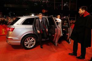 "Audi at the 67th Berlinale: Arrivals ""The Dinner"" Premiere"