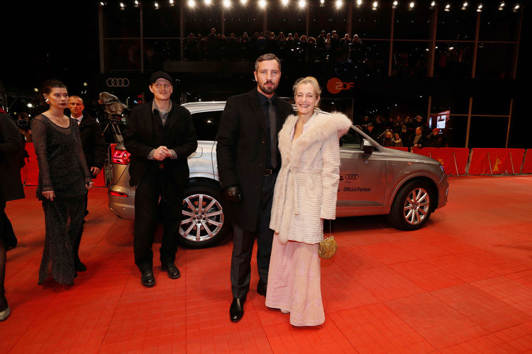 """Audi at the 67th Berlinale: Arrivals """"Wild Mouse"""" Premiere"""