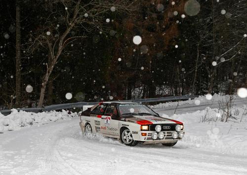 Audi Tradition debütiert bei der AvD-Histo-Monte