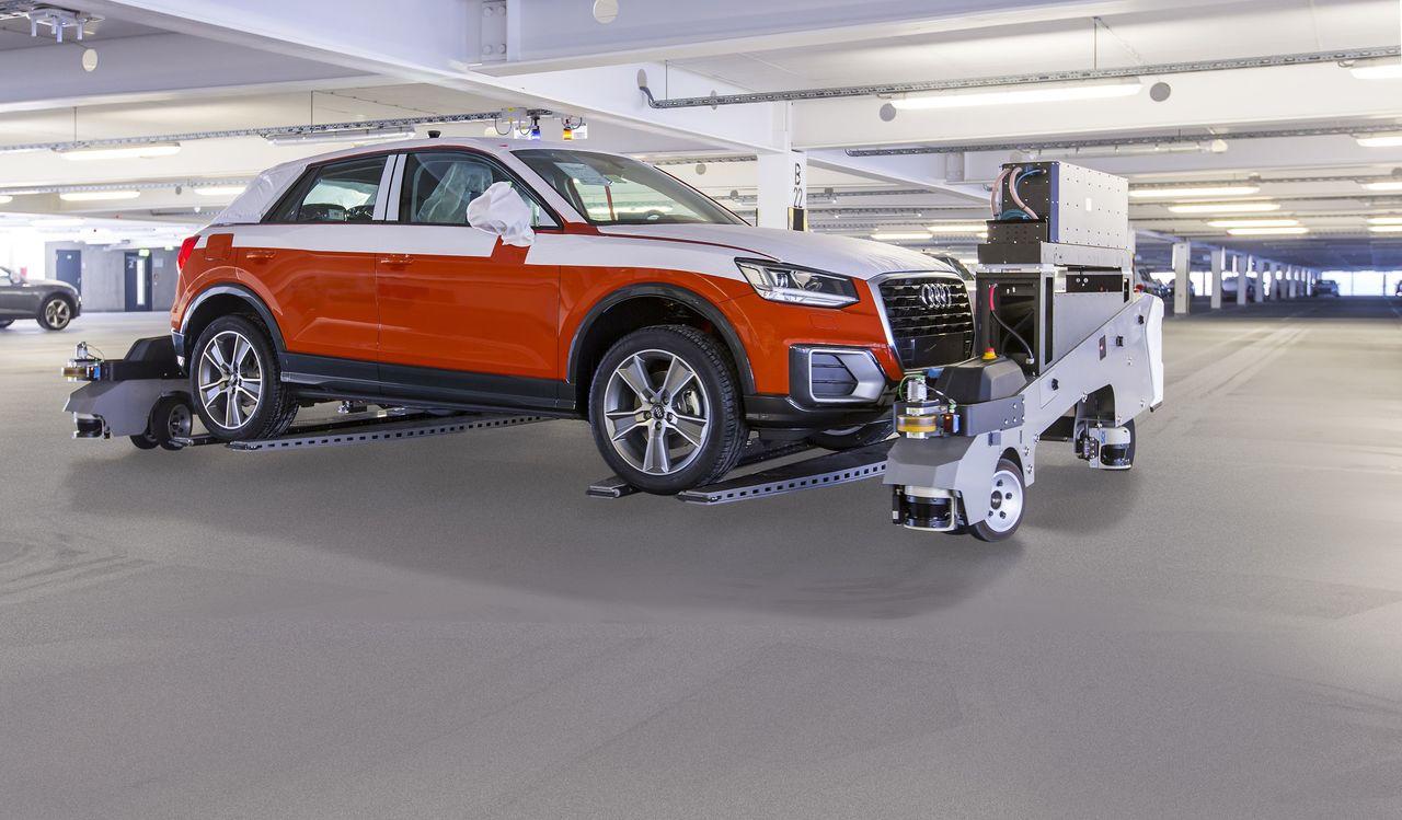 Audi gewinnt VDA Logistik Award für automatisierten Fahrzeugversand